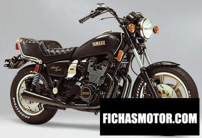 Imagen moto Yamaha xs 1100 año 1980