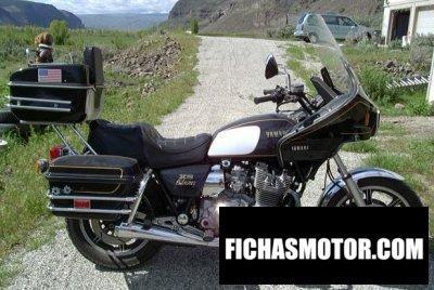 Imagen moto Yamaha xs 1100 año 1981