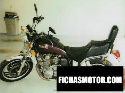 Ficha técnica Yamaha xs 1100 1982