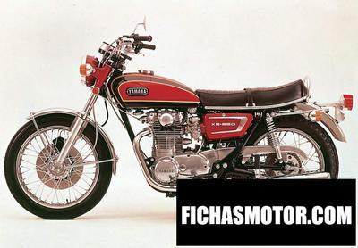 Ficha técnica Yamaha xs 2 1971