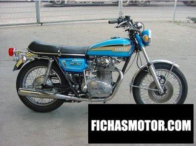Ficha técnica Yamaha xs 2 e 1972