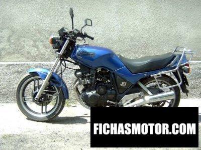 Ficha técnica Yamaha xs 400 dohc 1983