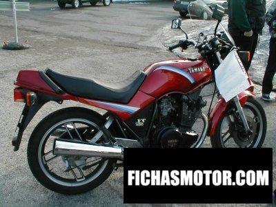 Ficha técnica Yamaha xs 400 dohc 1985