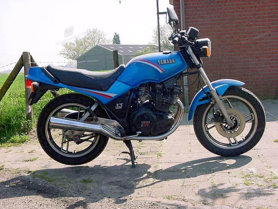 Ficha técnica Yamaha xs 400 dohc 1987