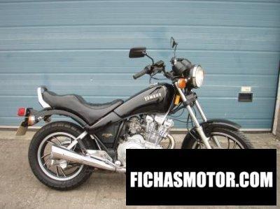 Imagen moto Yamaha xs 400 dohc año 1988