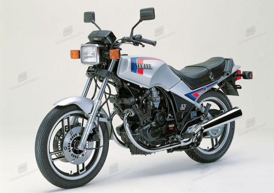 Imagen moto Yamaha xs 400 dohc año 1990