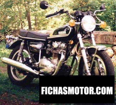 Ficha técnica Yamaha xs 650 1975