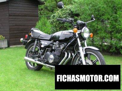 Ficha técnica Yamaha xs 750 1977