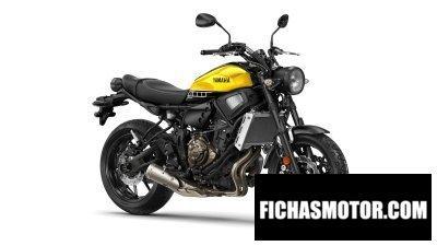 Ficha técnica Yamaha xsr700 2016