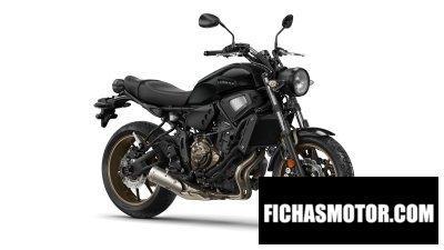 Ficha técnica Yamaha xsr700 2018