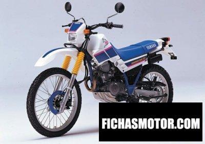 Ficha técnica Yamaha xt 225 serow 1996