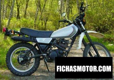 Ficha técnica Yamaha xt 250 1981