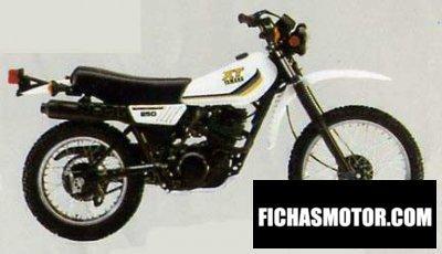 Imagen moto Yamaha xt 250 año 1984