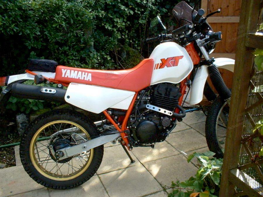 Ficha técnica Yamaha xt 250 1988