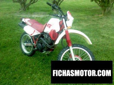 Imagen moto Yamaha xt 350 año 1991