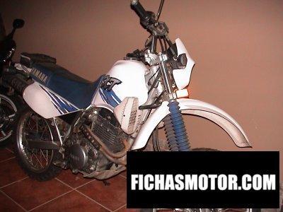 Ficha técnica Yamaha xt 350 1998