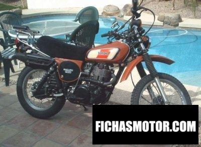 Imagen moto Yamaha xt 500 año 1977