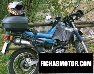 Ficha técnica Yamaha xt 600 1993
