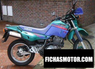 Ficha técnica Yamaha xt 600 e 1995