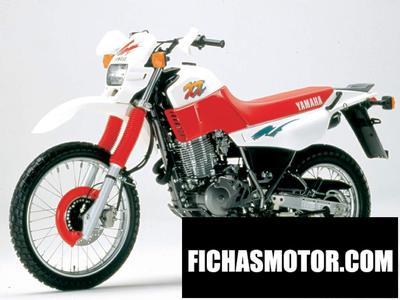 Ficha técnica Yamaha xt 600 k 1990