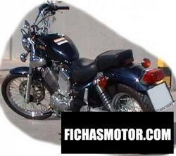 Imagen moto Yamaha xv 535 1991