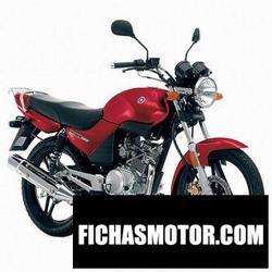 Imagen moto Yamaha ybr 125 2006