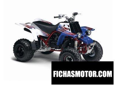 Imagen moto Yamaha yfz350 banshee año 2011