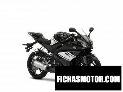 Imagen moto Yamaha yzf-r 125 año 2009