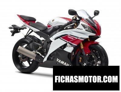 Ficha técnica Yamaha yzf-r6 wgp 50th anniversary 2012