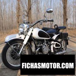 Imagen moto Yangtze 750 standard a (with sidecar) 1989