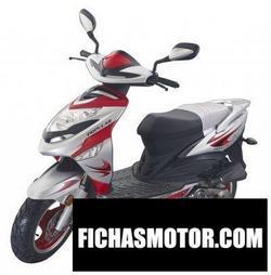Imagen moto Yiben yb 50qt-9 popular 2009