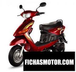 Imagen moto Yobykes spark 2011