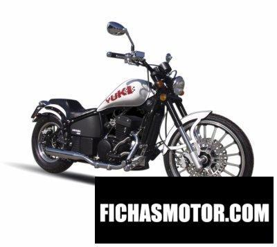 Imagen moto Yuki daytona 350 año 2013