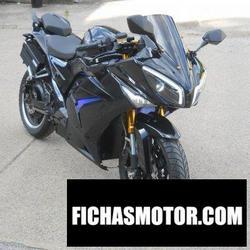 Imagen moto Zev m-35 s 2018