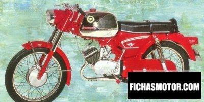 Ficha técnica Zündapp 517 ks 50 1969